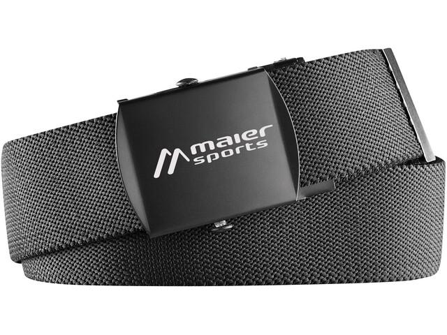 Maier Sports Tech Cinturón, negro